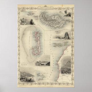 Islas en el Atlántico Posters