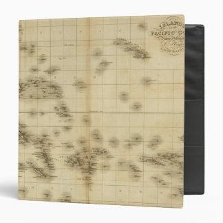 """Islas en el Océano Pacífico Carpeta 1 1/2"""""""