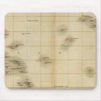 Islas en el Océano Pacífico Mousepads
