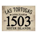 Islas Est de la hermana de Las Tortugas. 1503 Tarjetas Postales