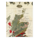 Islas geológicas, paleontológicas de Británicos de Postal