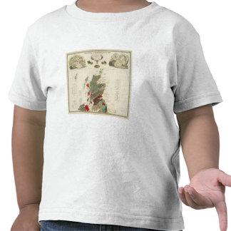 Islas geológicas, paleontológicas de Británicos Camiseta