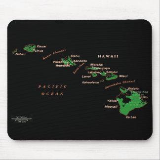 Islas hawaianas Mousepad