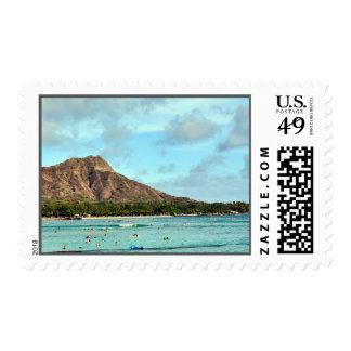 Islas hawaianas principales del diamante timbres postales