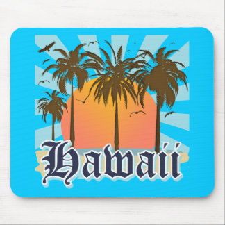 Islas hawaianas Sourvenir de Hawaii Tapete De Ratón