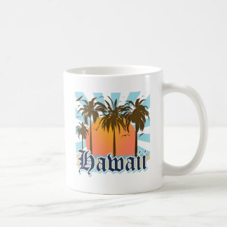 Islas hawaianas Sourvenir de Hawaii Taza Clásica