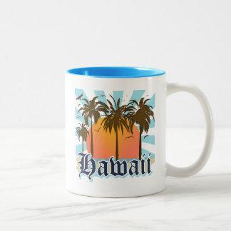 Islas hawaianas Sourvenir de Hawaii Tazas