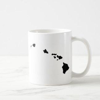 Islas hawaianas taza básica blanca