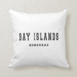 Islas Honduras de la bahía Cojines