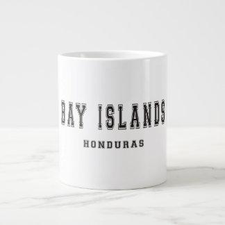 Islas Honduras de la bahía Taza Grande