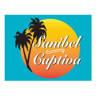 Islas la Florida de Sanibel Captiva Postal