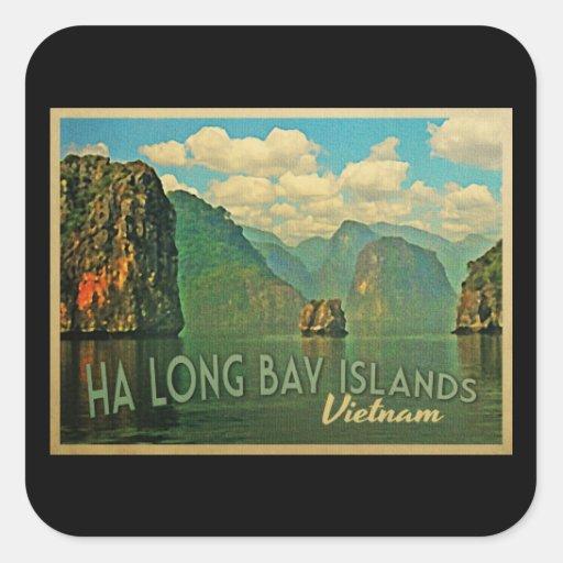 Islas largas Vietnam de la bahía de la ha Pegatinas