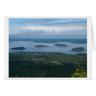 Islas Maine del puerco espín Tarjeta Pequeña