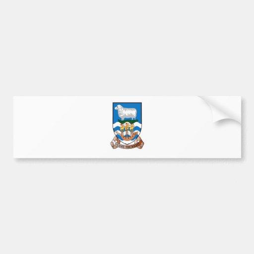 Islas Malvinas (Malvinas) FK Pegatina De Parachoque