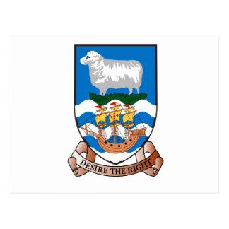 Islas Malvinas (Malvinas) FK Tarjeta Postal