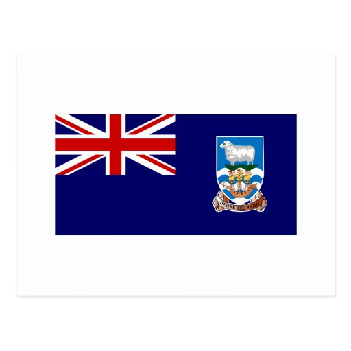 Islas Malvinas SEÑALAN el International por medio  Postal