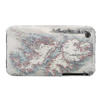 Islas Malvinas y Patagonia, de una serie de W iPhone 3 Case-Mate Fundas