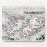 Islas Malvinas y Patagonia, de una serie de W Mouse Pad