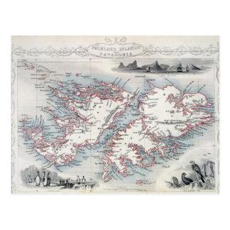 Islas Malvinas y Patagonia, de una serie de W Postales