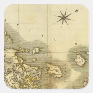 Islas occidentales medias colcomania cuadrada