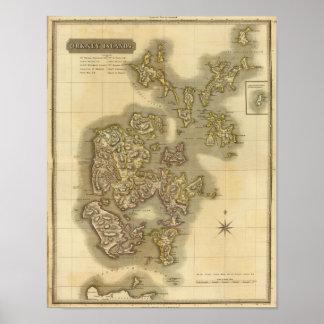 Islas Orcadas Póster