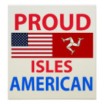Islas orgullosas americanas impresiones