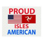 Islas orgullosas americanas postales