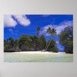 Islas Palau de la roca Póster
