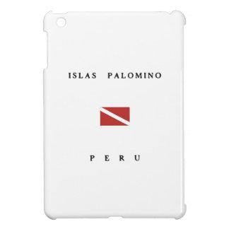 Islas Palomino Peru Scuba Dive Flag iPad Mini Cover