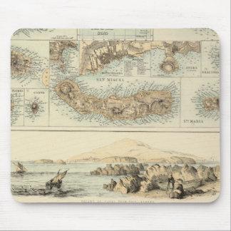 Islas portuguesas en el Océano Atlántico Mouse Pad