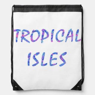 Islas tropicales mochila