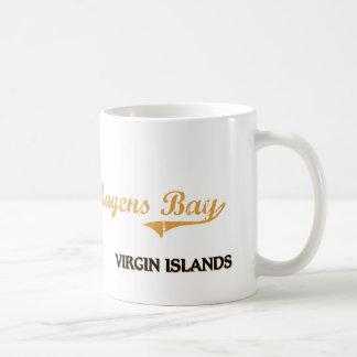 Islas Vírgenes de la bahía de Magens clásicas Tazas De Café