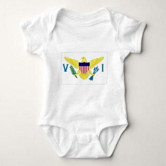 Islas Vírgenes de los E.E.U.U. Mameluco De Bebé