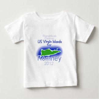 ISLAS VÍRGENES de Romney Playera Para Bebé