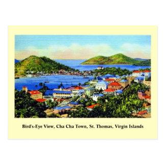 Islas Vírgenes de St Thomas del vintage Postales