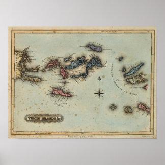 Islas Vírgenes Póster