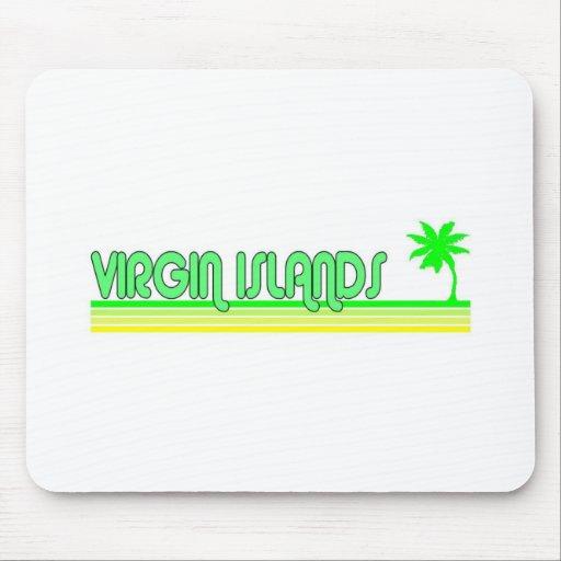 Islas Vírgenes Tapete De Ratón