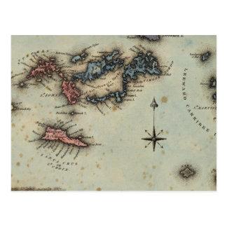 Islas Vírgenes Tarjetas Postales