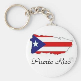 IslaSticker_tn, Puerto Rico Llavero Redondo Tipo Pin