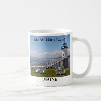 Isle Au Haut Light, Maine Mug