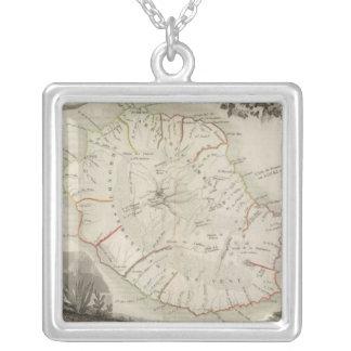 Isle De La Reunion Silver Plated Necklace