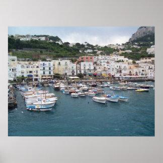 Isle di Capri Poster
