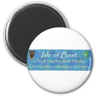 Isle of Bast 2 Inch Round Magnet