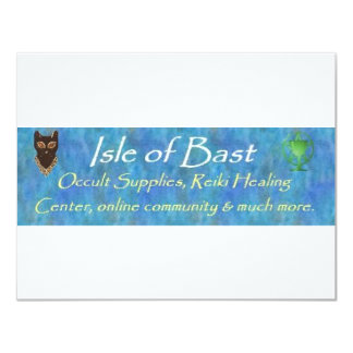 Isle of Bast Personalized Announcement