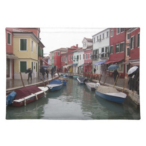 Isle of Bourano Cloth Placemat