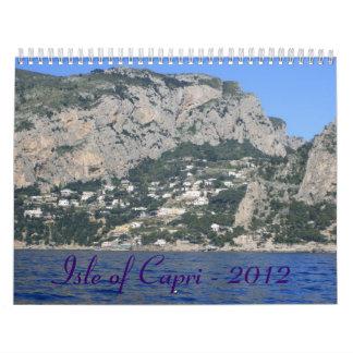Isle of Capri - 2012 Calendar