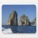 Isle of Capri, Faraglioni Mouse Pad