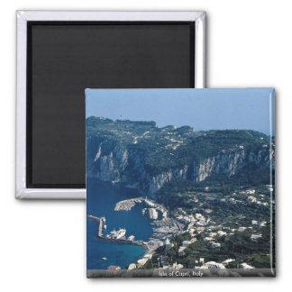 Isle of Capri, Italy 2 Inch Square Magnet