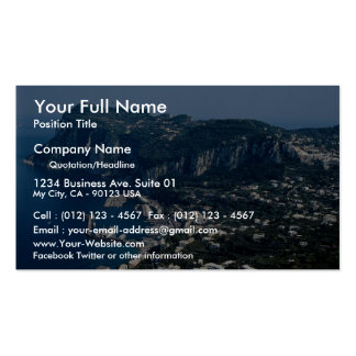 Isle of Capri, Italy Double-Sided Standard Business Cards (Pack Of 100)