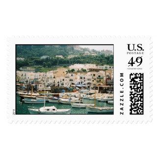 Isle of Capri Postage Stamps